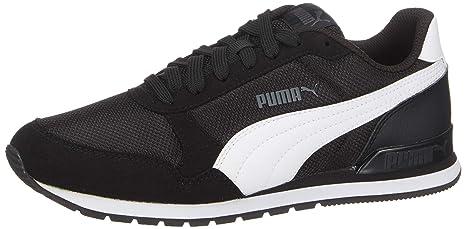 e638a381901 Tênis Puma ST Runner V2 Mesh Preto e Branco  Amazon.com.br  Esportes ...