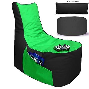 für PS4 XBOX360 ROT GAMEWAREZ Alpha ROT Gaming Sitzsack
