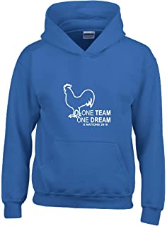 One Team One Dream England Rugby Six Nations 2020 Hoodie Kids