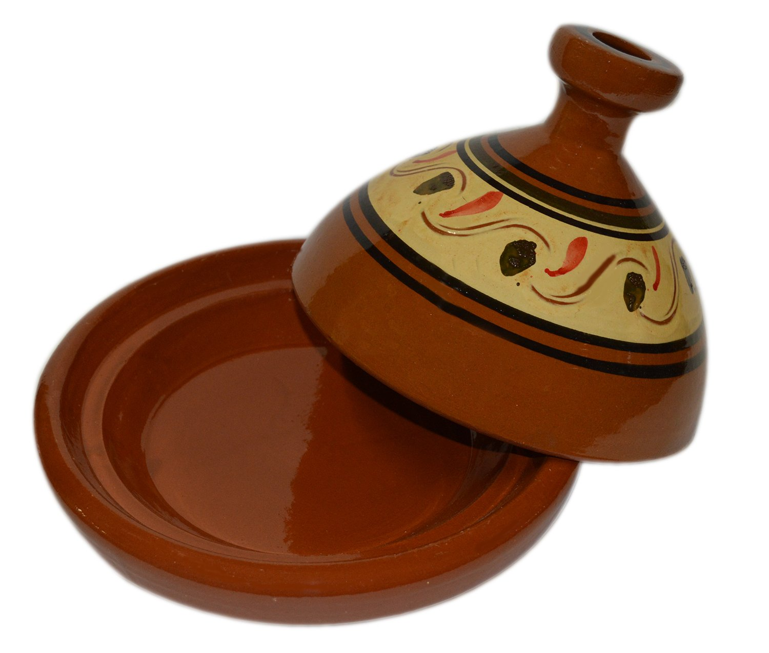 Moroccan Medium Simple Cooking Tagine Lead Free by Cooking Tagines (Image #3)