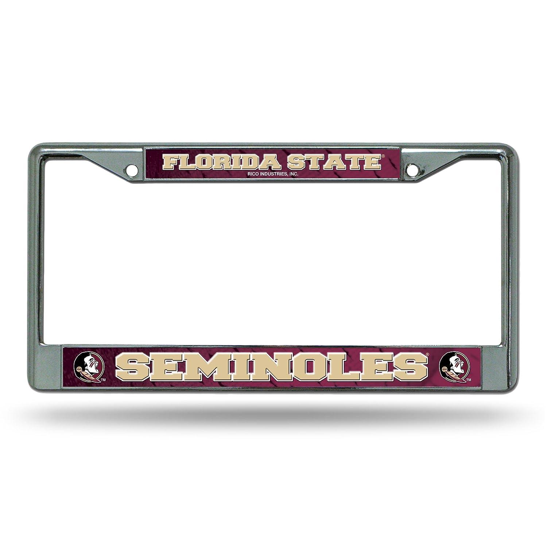 NCAA Florida State Seminoles Chrome Plate Frame