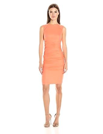 2b924c4a124 Nicole Miller Women s Lauren Stretch Linen Dress at Amazon Women s ...