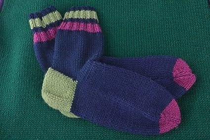 Calcetines tejidos a crochet artesanales ropa para mujer regalo original
