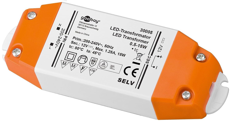 Led transformator 230v ac auf 12v dc fr 0 5 bis 15 watt led led transformator 230v ac auf 12v dc fr 0 5 bis 15 watt led lampen amazon beleuchtung parisarafo Images