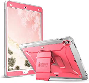 SUPCASE Unicorn Beetle PRO Case for iPad Air 3 (2019) and iPad Pro 10.5'' (2017), Heavy Duty with Built-in Screen Protector Full-Body Rugged Protective Case(Pink)