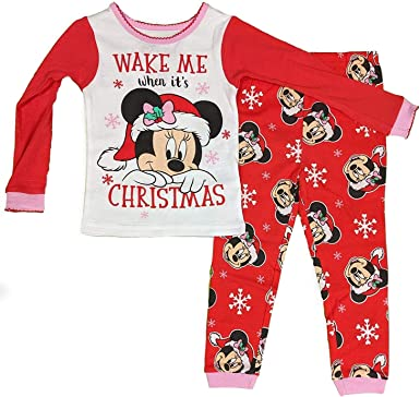 DISNEY MINNIE MOUSE PAJAMAS SIZE 18 MONTHS 2T 3T 4T 5T NEW!