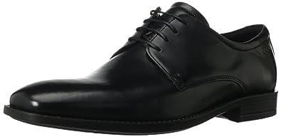 ECCO Men's Edinburgh Plain Toe Tie Oxford,Black,45 EU/11-11.5