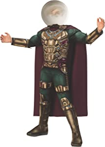 Rubie's Marvel Spider-Man Far from Home Child's Deluxe Mysterio Costume, Large