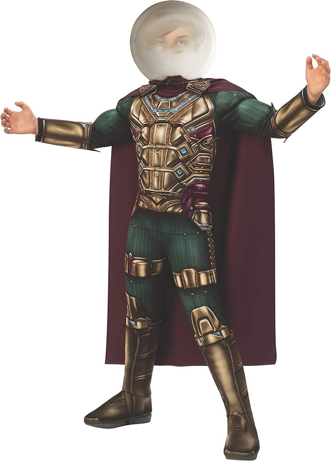 Rubie's Marvel Spider-Man Far from Home Child's Deluxe Mysterio Costume