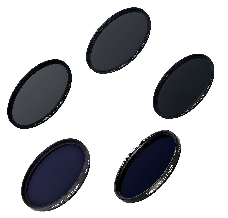 Kenko レンズフィルター NDフィルター クリエイティブセット 77mm NDフィルター5枚セット 003985   B01HNTQJ8C
