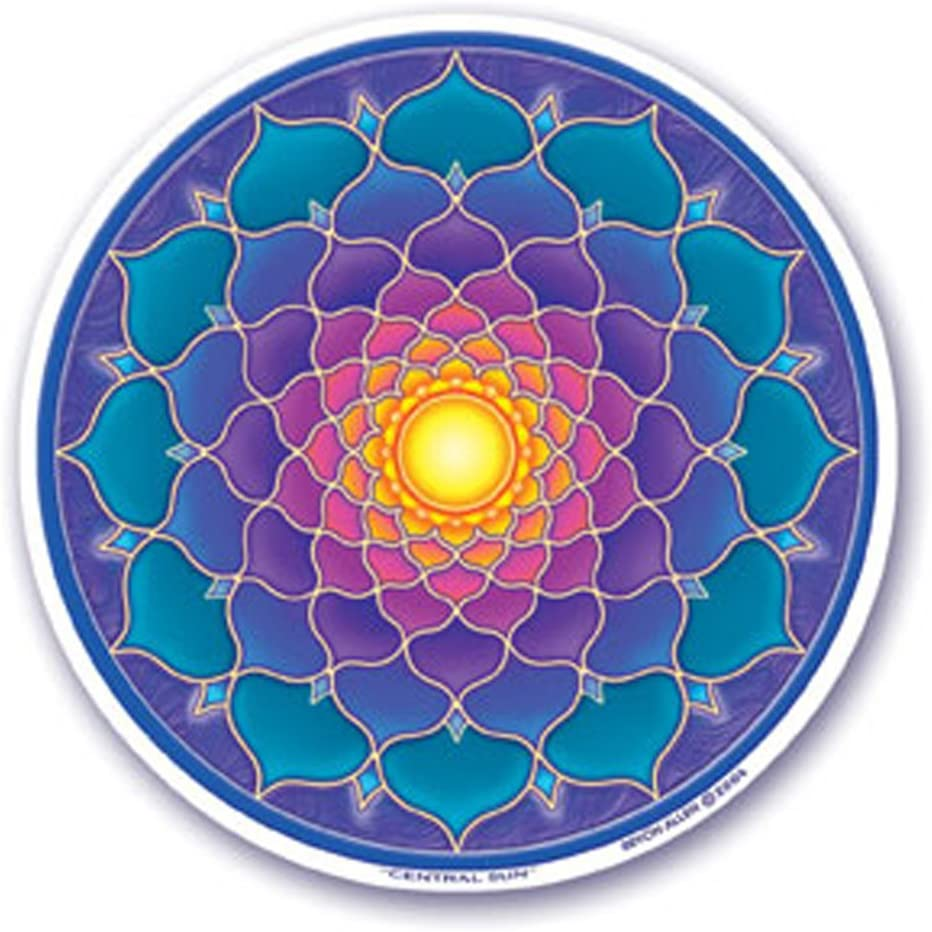 Mandala Arts Colorful Decal Window Sticker - 4.5
