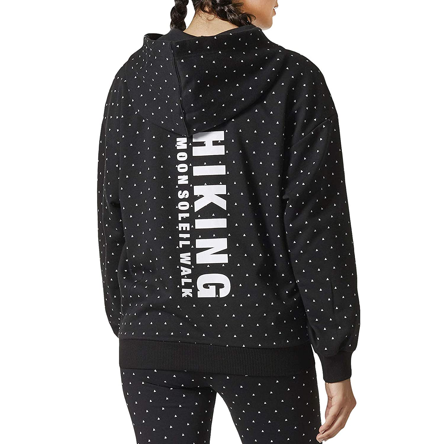 Adidas Damen Hoodie Pharrel Williams HuHiking CY7558 Schwarz