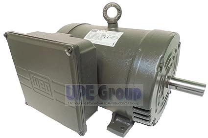 Nuevo WEG 7,5 HP resistente motor eléctrico 3450 RPM, 1 fase, marco