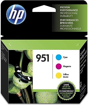 HP 951 Color Ink Cartridges 3-Pack Cyan, Magenta, Yellow in Retail Box !!!