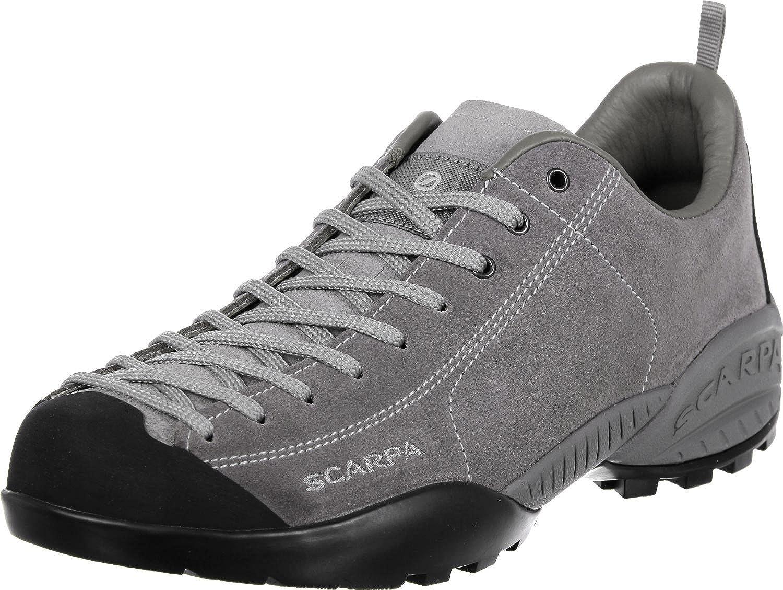 Scarpa Schuhe Mojito Leder Größe 43 midgrau