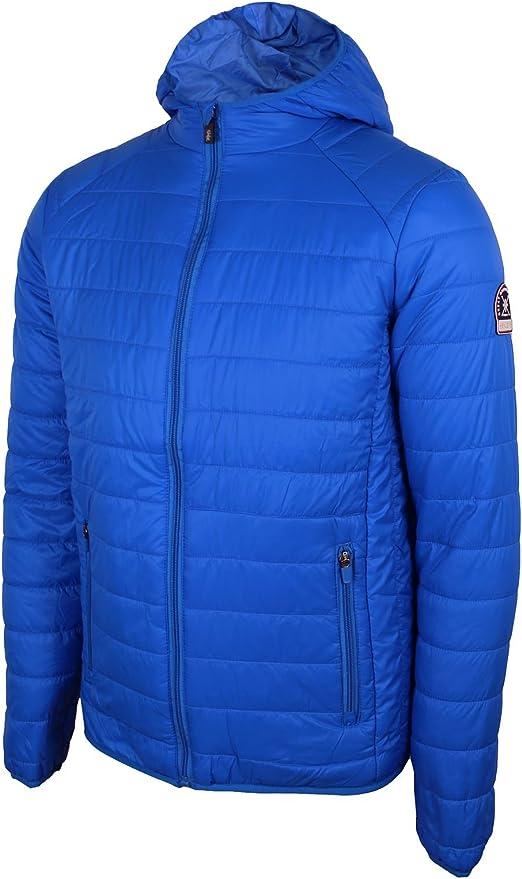 Henleys Mens Destruct 2 Padded Lightweight Hooded Winter Puffer Jacket Coat