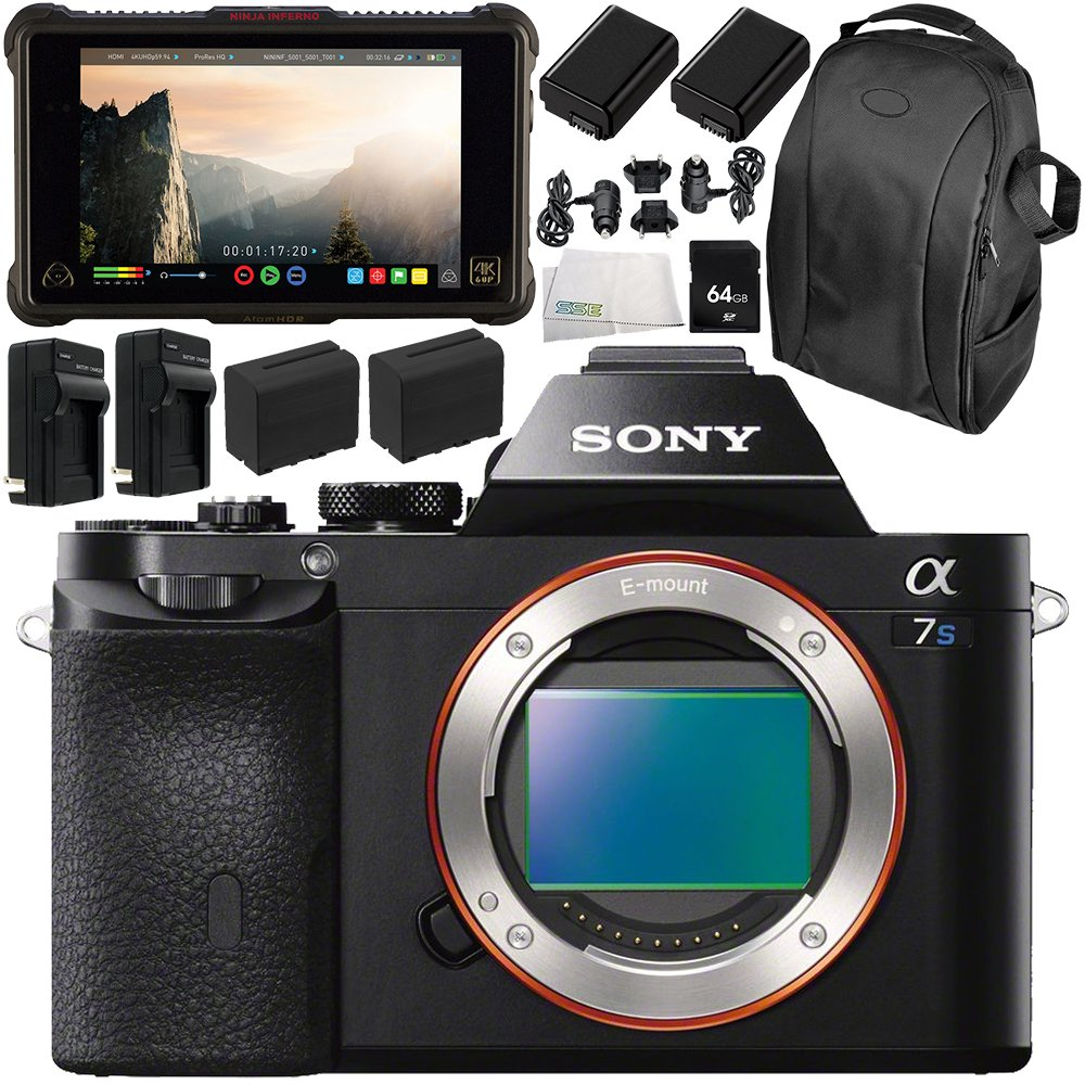 Amazon.com : Sony Alpha a7S Mirrorless Digital Camera with ...