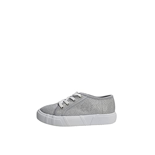 Byblos SHB224 Sneakers Bambina ARGENTO 25  Amazon.it  Scarpe e borse 666fb43dc6a