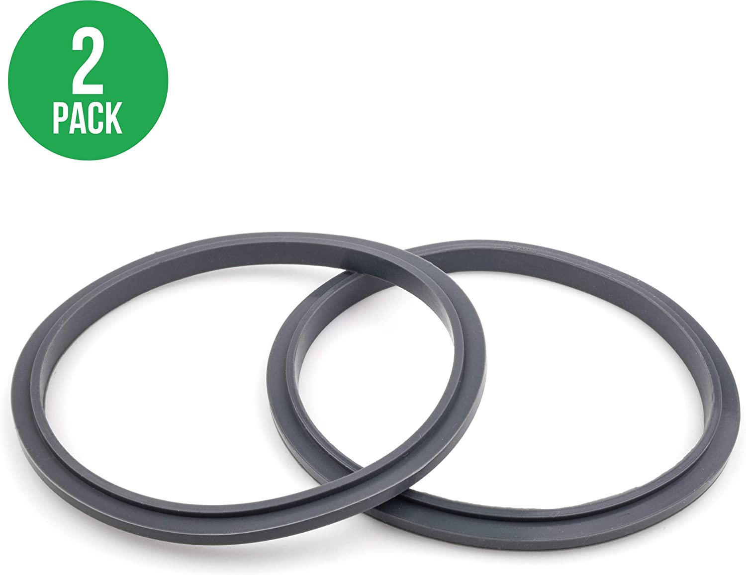 CloudCUP Seal Ring Gaskets with Lip - Gasket for Nutribullet 600/900 Series (Pack of 2)