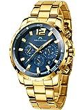 Relojes Hombre Relojes Grandes de Pulsera Militares Cronografo Diseñador Luminosos Impermeable Reloj Hombre Deportivos…