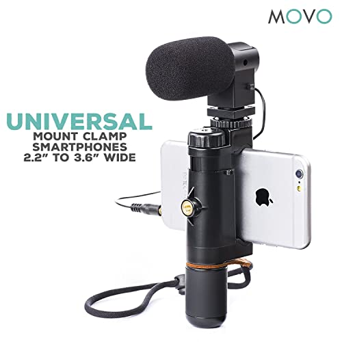 Movo Smartphone Video Rig With Stereo Microphone