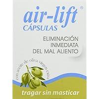 air-lift Cápsulas, para eliminación mal aliento 40 uds