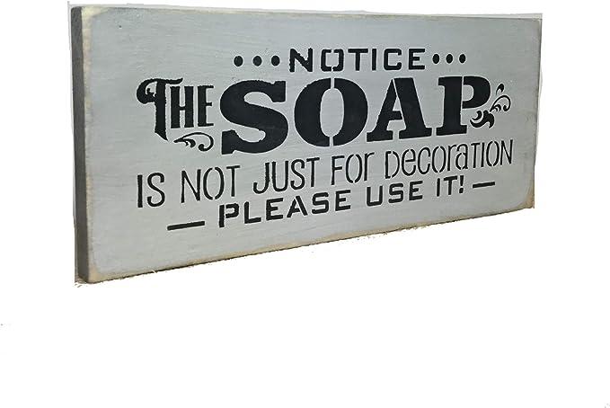 22.00 Primitive bathroom sign 12 x 12 Wooden bath sign BATHROOM SIGN Painted wooden sign Bathroom decor Hot Bath