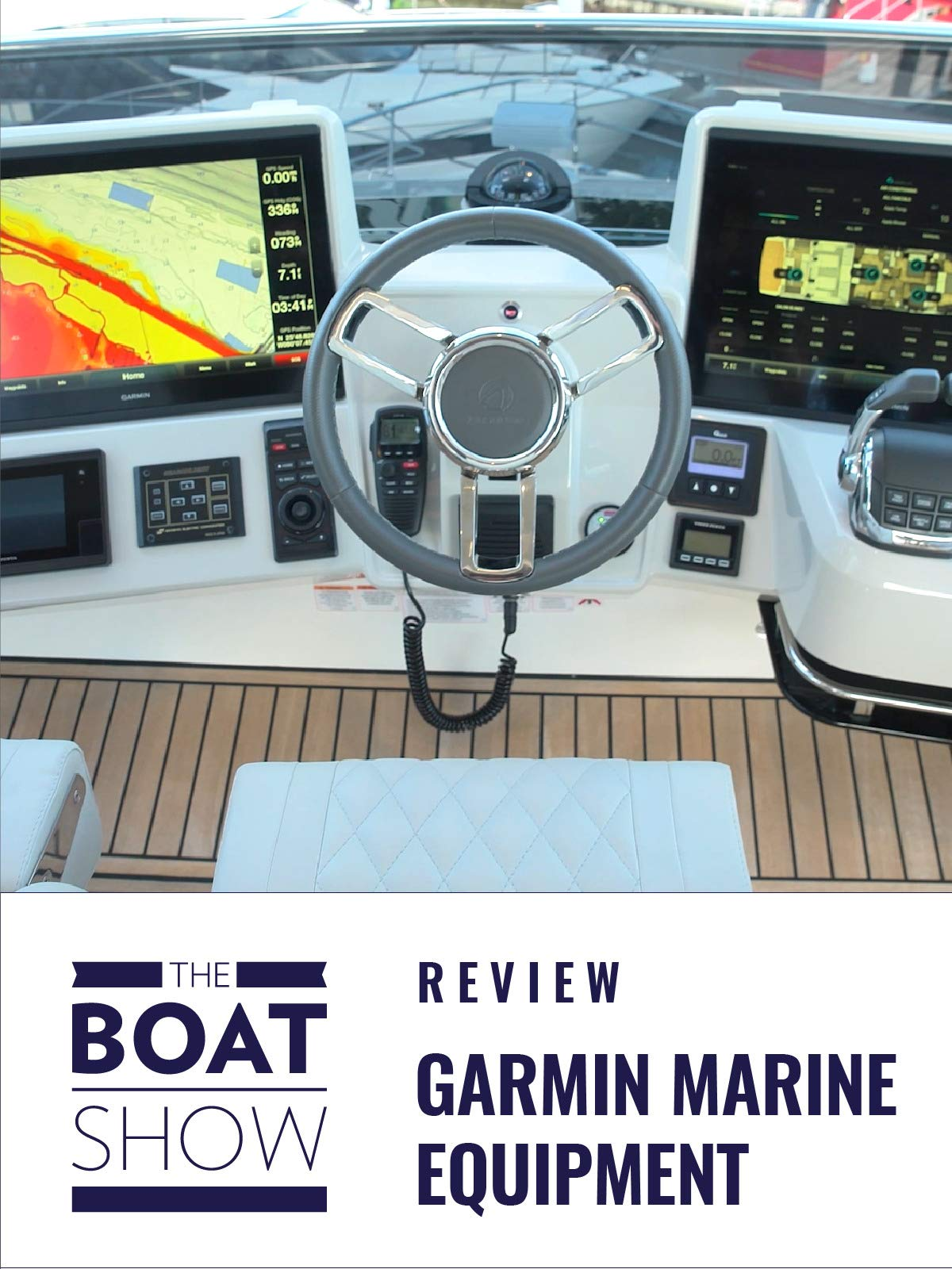 Garmin Marine Equipment - The Boat Show