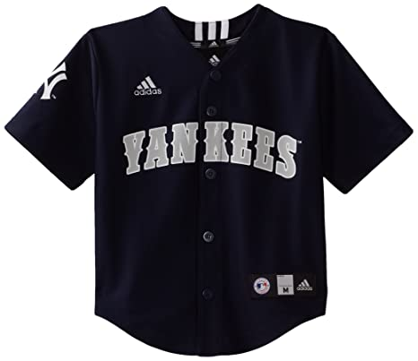 Amazon.com   MLB Boys New York Yankees Team Color Printed Jersey ... 392ed579d7f