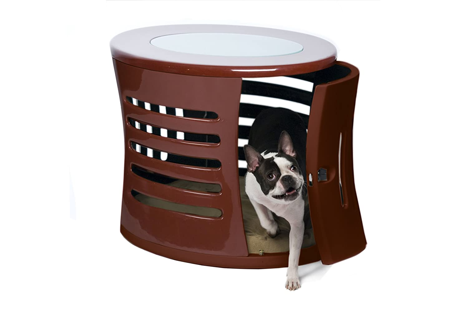 dog crates furniture style. amazoncom denhaus zenhaus indoor dog house and end table white small pet crates supplies furniture style