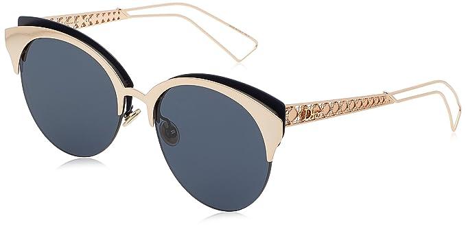 Christian Dior Damen Sonnenbrille Dioramaclub A9 2BN, Rot (Red Gd Mtbluee/Bluette Avio Ar), 55
