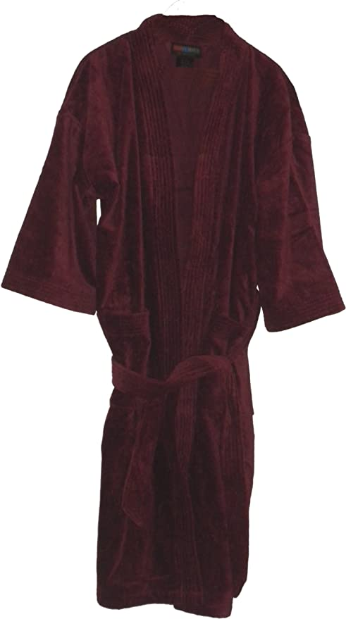 a30c4105e309c Monogrammed Bathrobes, Bridesmaids Gifts, Burgundy Bathrobes, Full Length  Robes