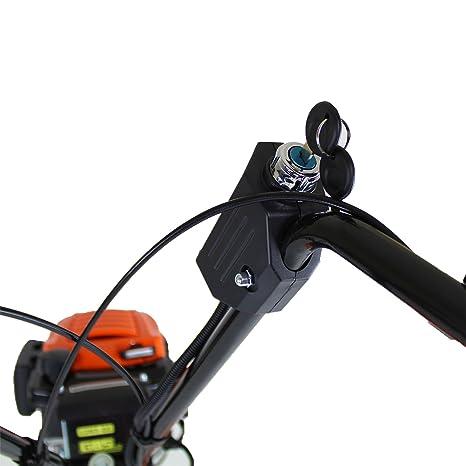 P1PE P140TE 139 cc 4 Stroke Electric Start Hyundai Powered Petrol Tiller/Rotovator, Naranja: Amazon.es: Bricolaje y herramientas