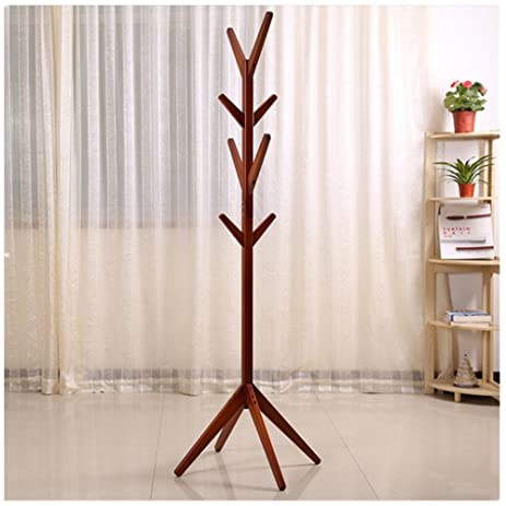 Amazon Solid Wood Coat Rack Hall Tree Hat Purse Display Stand Enchanting Hall Tree Coat Rack