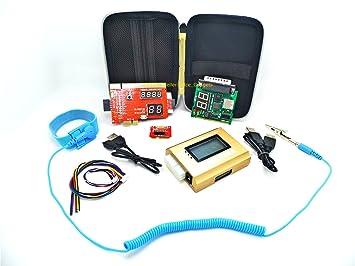 Nueva PCIe PCI LPC completo ordenador de sobremesa portátil analizador de diagnóstico de Placa Base POST de reparación Kit de solución de problemas prueba ...