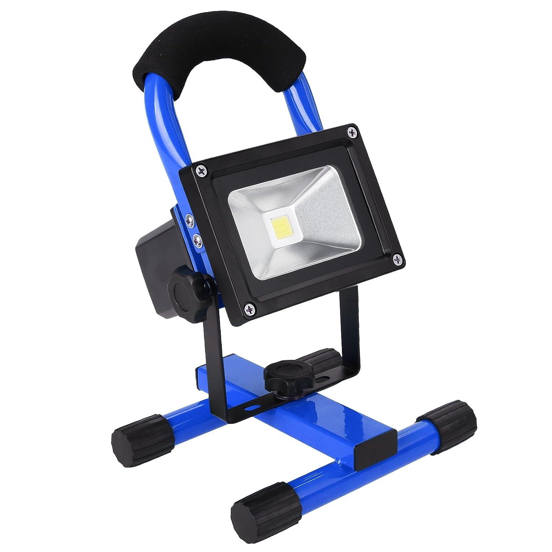 Rolson 400w Heavy Duty Halogen Work Light Portable Garage: Lighting