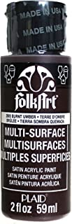product image for FolkArt Multi-Surface Paint in Assorted Colors (2 oz), 2909, Burnt Umber