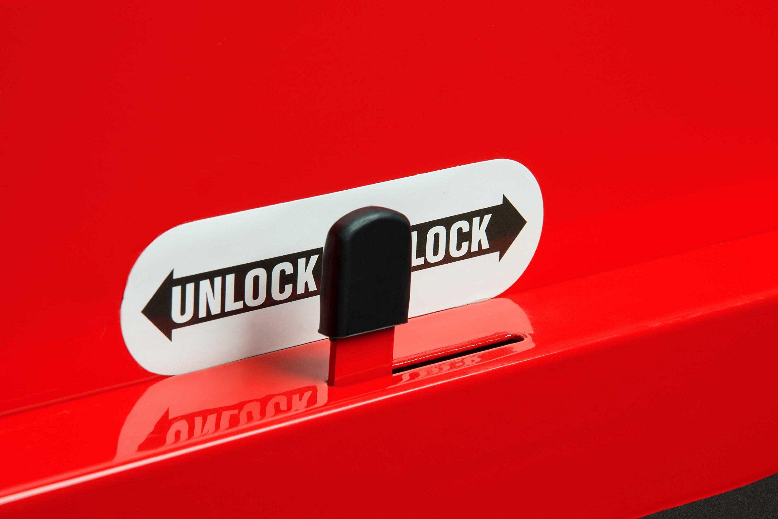 Sunex 8057 Premium Full Drawer Service Red Cart by Sunex Tools (Image #5)