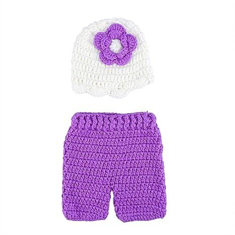 LUOEM Bebé recién nacido Fotografía Prop Girl Boy Crochet ...