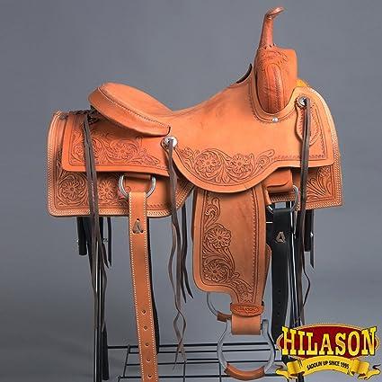 Amazon com : HILASON OS815-F Western Cutting Cutter Roping