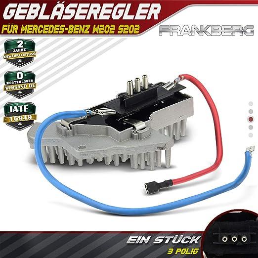 Gebl/äseregler Wiederstand Steuerger/ät f/ür W202 W202 W210 S202 S210 C208 A208 R170 1993-2004 2108206210