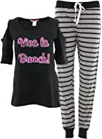 Love Loungewear Juniors Bare Shoulder Pajamas