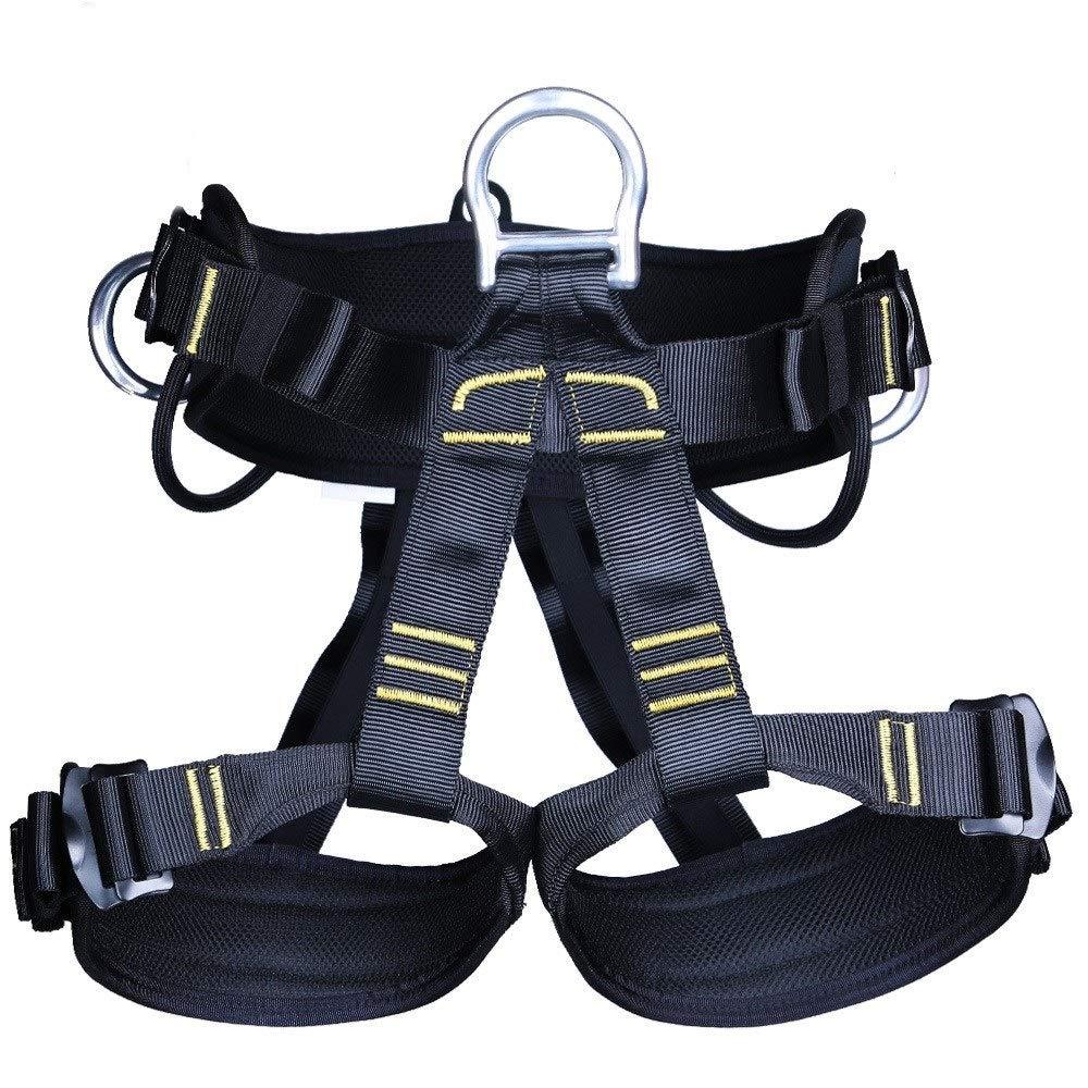 屋外ロッククライミング、ラペリング、拡張、空中作業用安全ベルト、登山用具、半身洞窟用安全ベルト