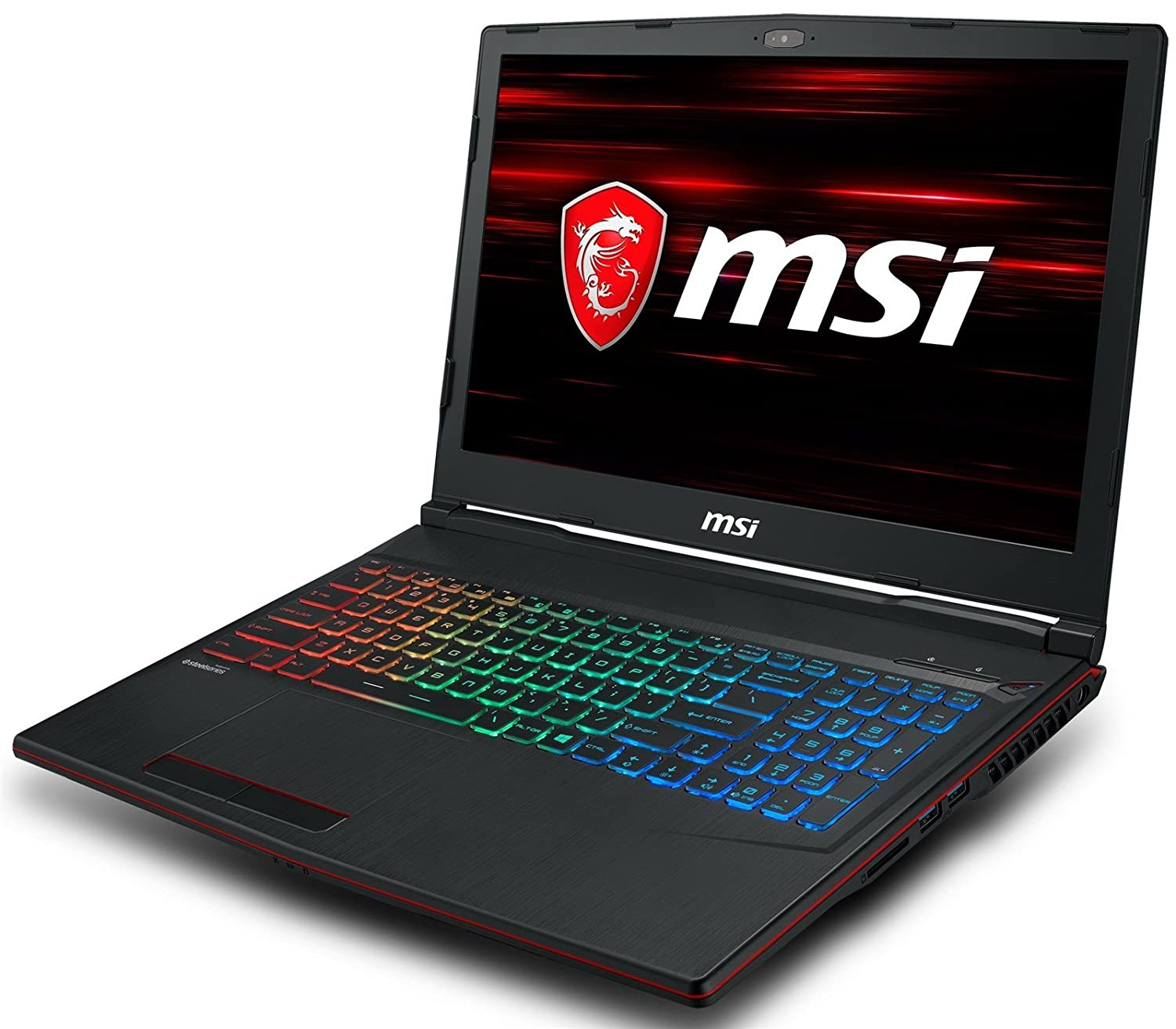 Amazon.com: MSI GP63 Leopard-013 (i7-8750H, 16GB RAM, 256GB SATA SSD + 1TB HDD, NVIDIA GTX 1060 6GB, 15.6
