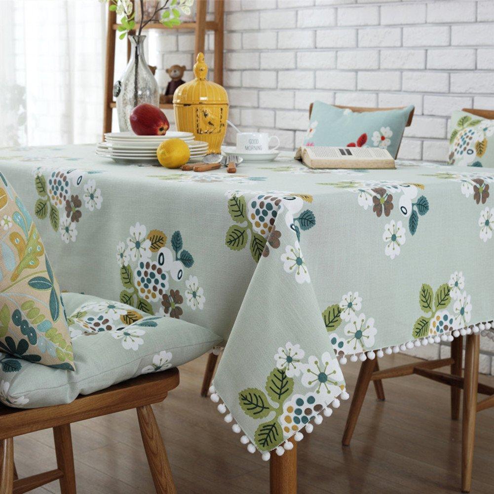 Fester länglicher tisch stoff Tischdecken drucken Küchentisch tuch Tischdecke für esszimmer Klare kunststoff-tischdecken-A Durchmesser180cm(71inch) B07872Z1RF Tischdecken Hochwertige Produkte | Up-to-date-styling