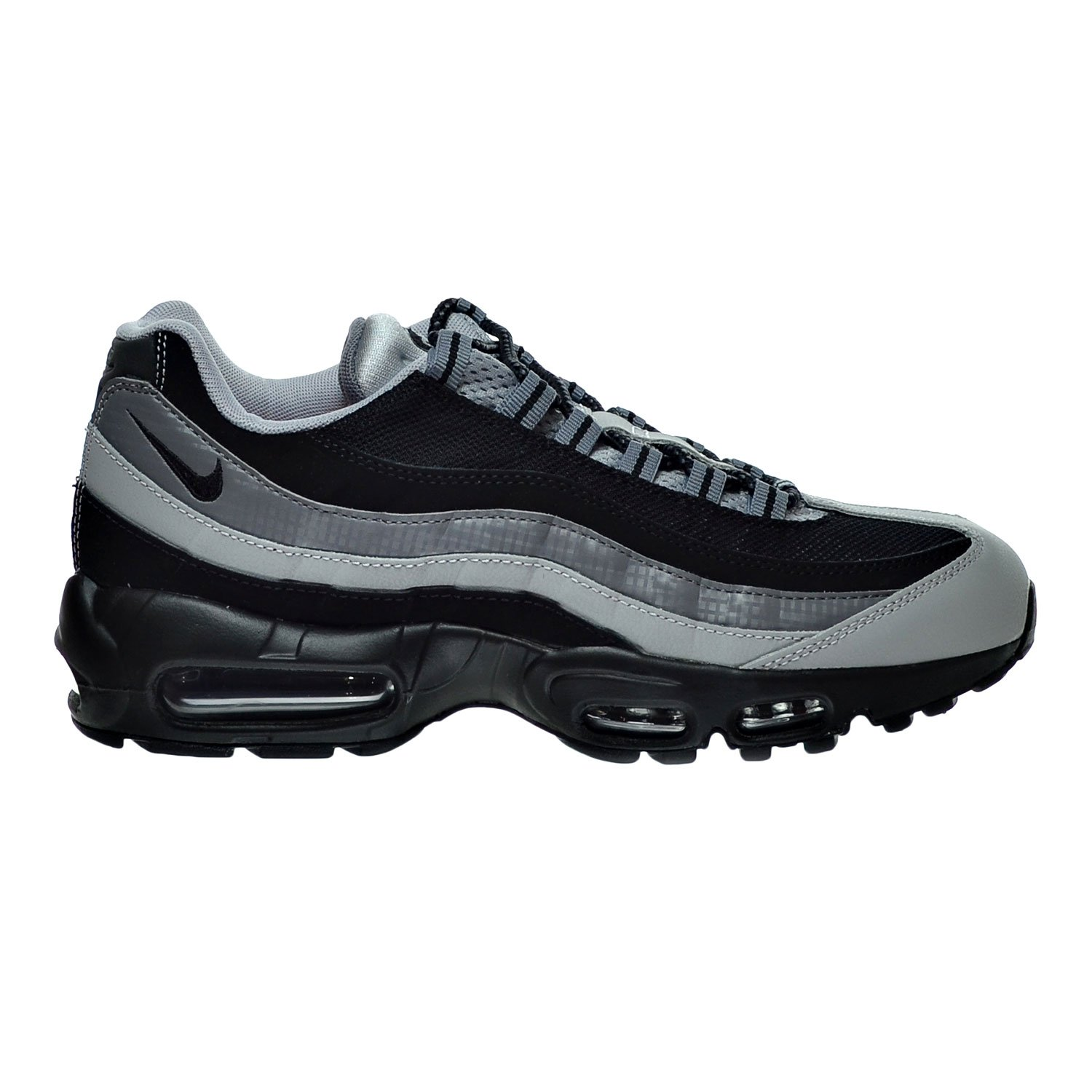 official photos 784e1 bf4d8 Amazon.com   Nike Air Max 95 Essential Men s Shoes Black Wolf Grey Cool  Grey 749766-005   Fashion Sneakers