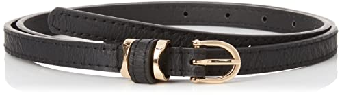 New Look Pu Keeper Waist, Cintura Donna