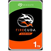 Seagate, Disco Duro de 1TB FireCuda Gaming SSHD (Unidad híbrida en Estado sólido); 7200RPM, SATA, 6GB/s, caché de 64MB, 8.89cm; ST1000DX002