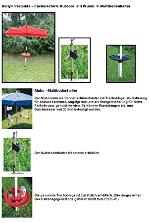 ZELTHERINGE- BODENANKER MULTIBODENHALTER STABIELO HOLLY  PRODUKTE WURMI