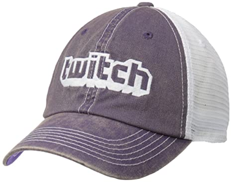 c0dd2d4ba43 Amazon.com  Twitch Logo Trucker Hat  Clothing